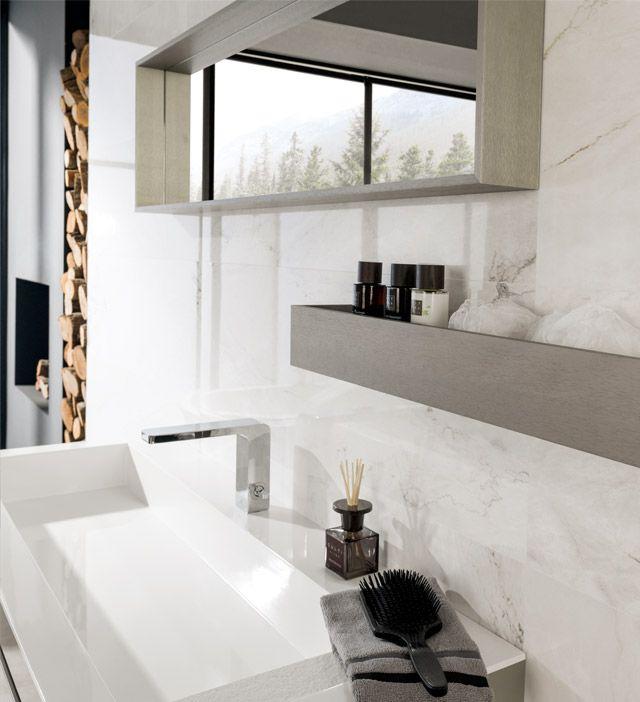 матовая плитка белая Venis Bianco Carrara